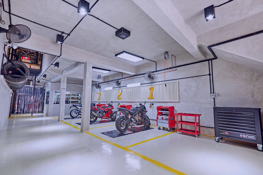 Como elegir el mejor taller para tu moto