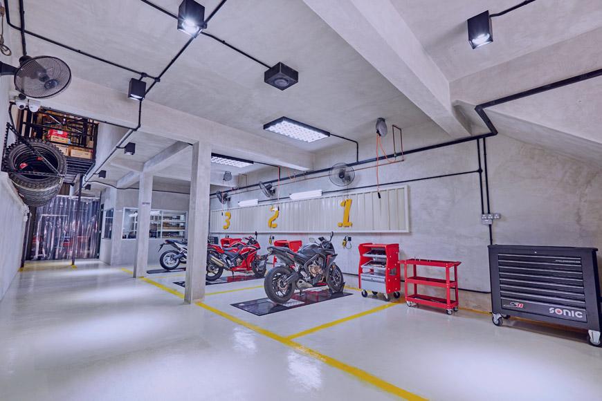 rodaje moto recién comprada